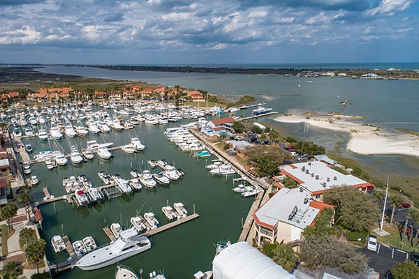 Our Condo 2 pg drone 2 Harbor 26 at the Inn at Camachee Harbor